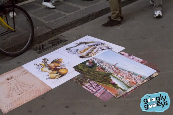 Paintings on the Floor of Florence