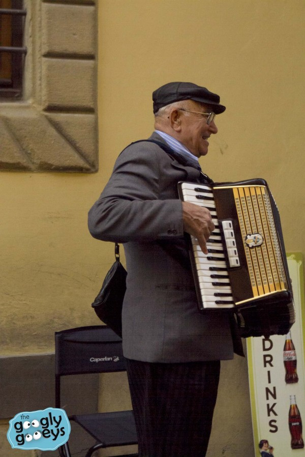 Accordion Player in Florence