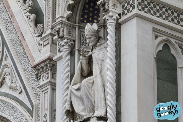 Details of Statues in the Florence Cathedral