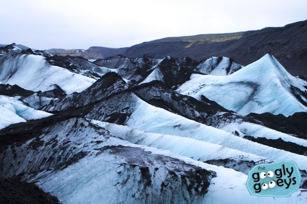 Solheimajokull Ice Cone