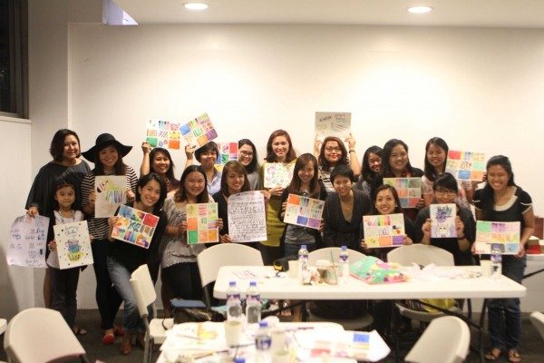 Fully Booked Watercolor Workshop
