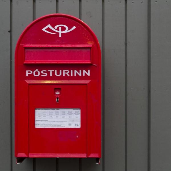 Mailbox Iceland