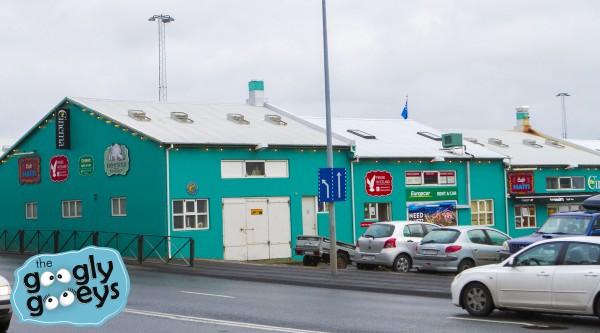 Reykjavik in Teal