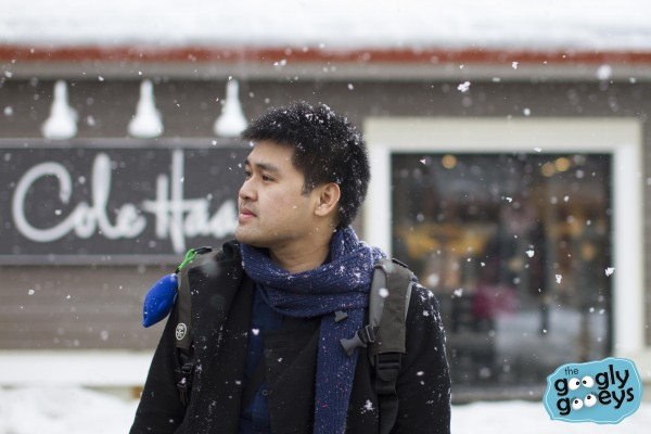 Ponggo in Snow