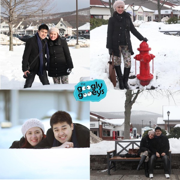 Tipsy & Ponggo in Snow