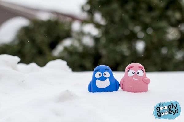 Googly Gooeys in the Snow