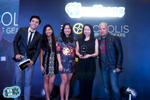The Soshal Network Wins award