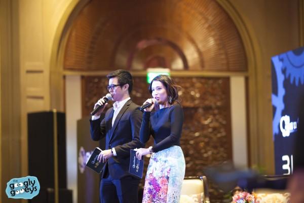 Justin Quirino & Carla Aguas Hosting Blogopolis 2015