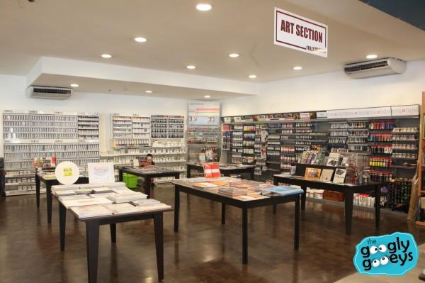 Art Supplies Fully Booked Greenbelt Basement