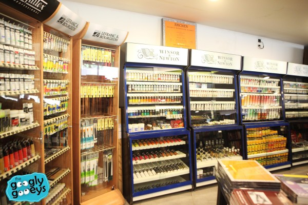 Fully Booked Watercolor Supplies