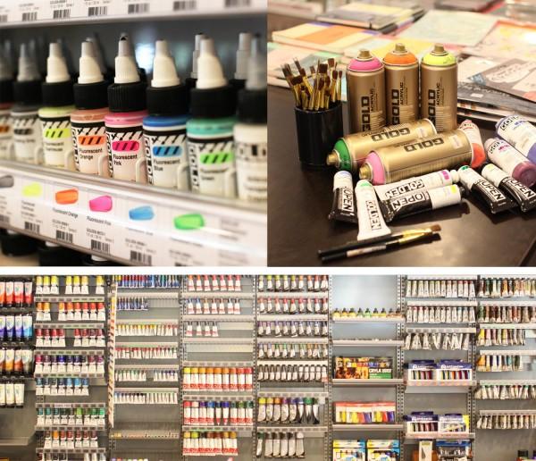 Fully Booked Greenbelt 5 Art Supplies
