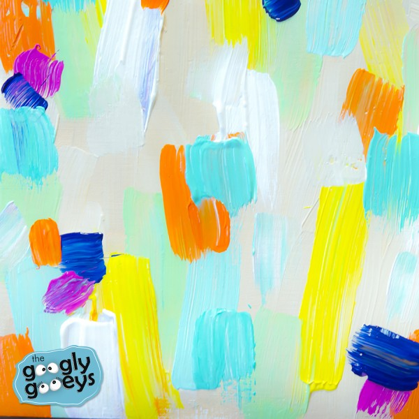 Acrylic Abstract Googly Gooeys