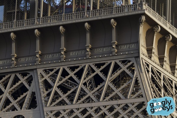 Eiffel Tower Upclose