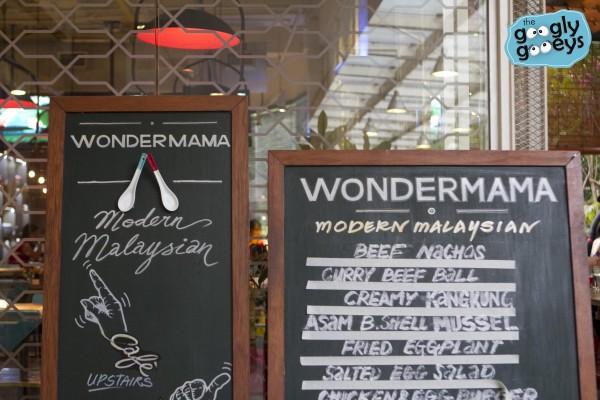 Wondermama Chalkboard Menu