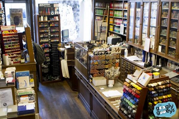 Sennelier Art Supply Store Paris Ground Floor