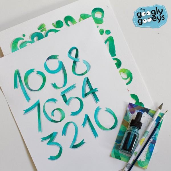 Watercolor & Lettering Workshop