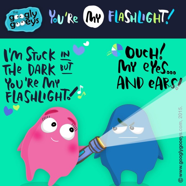 You're My Flashlight Parody