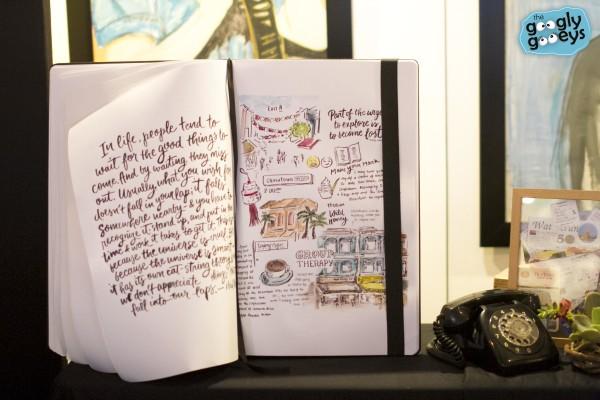 Abbey Sy Travel Diary for Moleskine