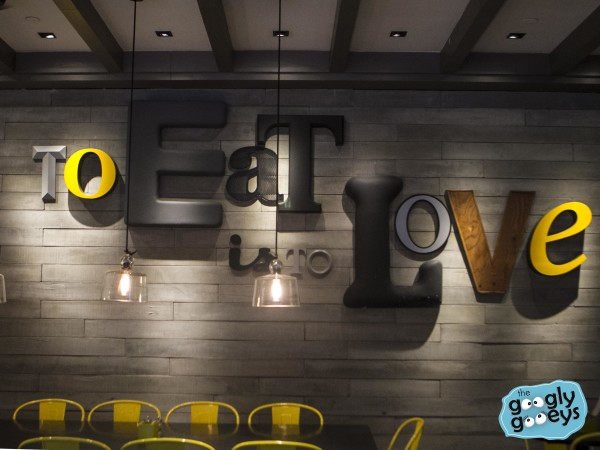 Ben's Love to Eat Signage Malaysia