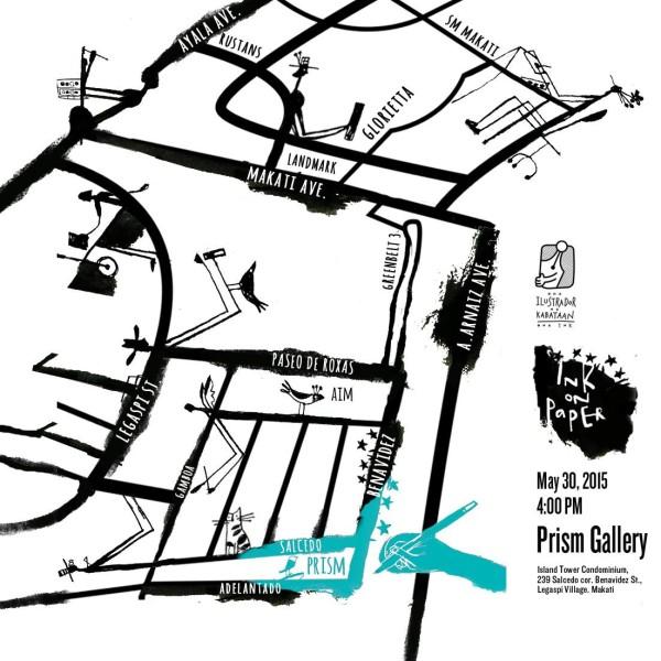 Prism Gallery Map Makati