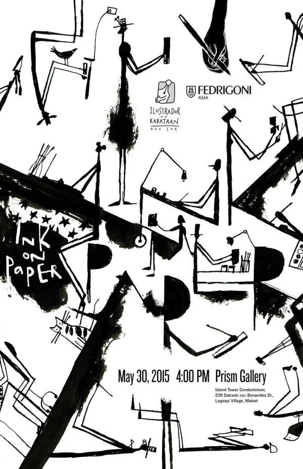 INK on Paper Exhibit Ilustrador ng Kabataan