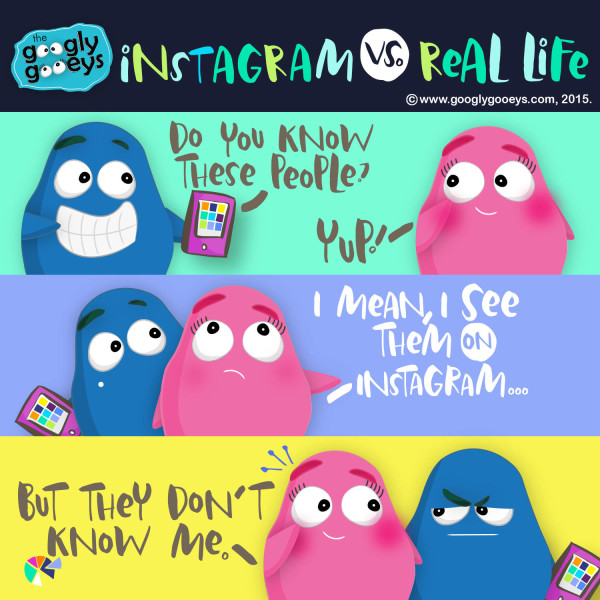 Instagram vs. Real Life