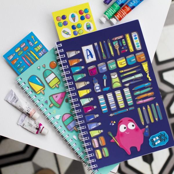 Googly Gooeys Notebook