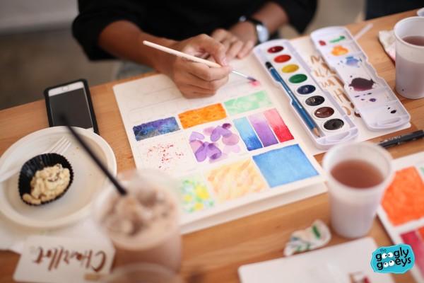 Watercolor Worksheet