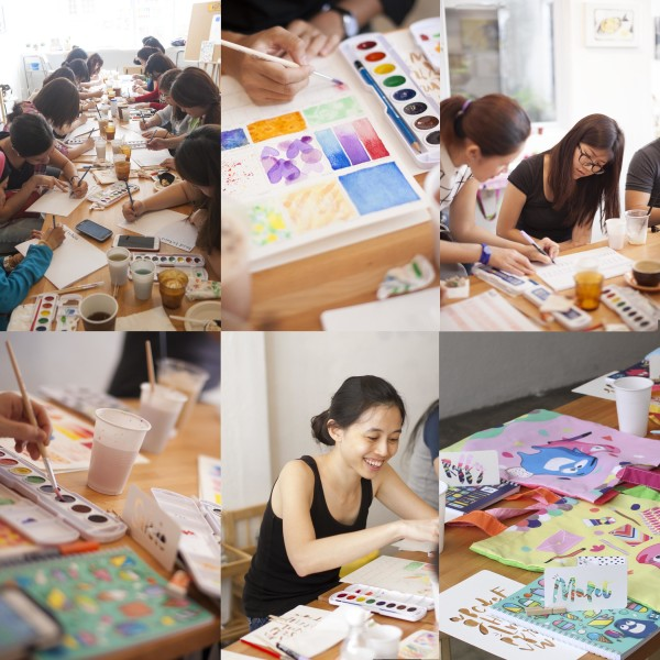 Singapore Workshop Collage
