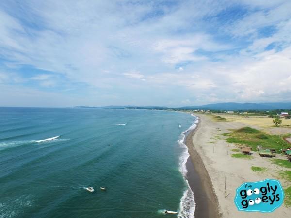 Flotsam Jetsam La Union Drone