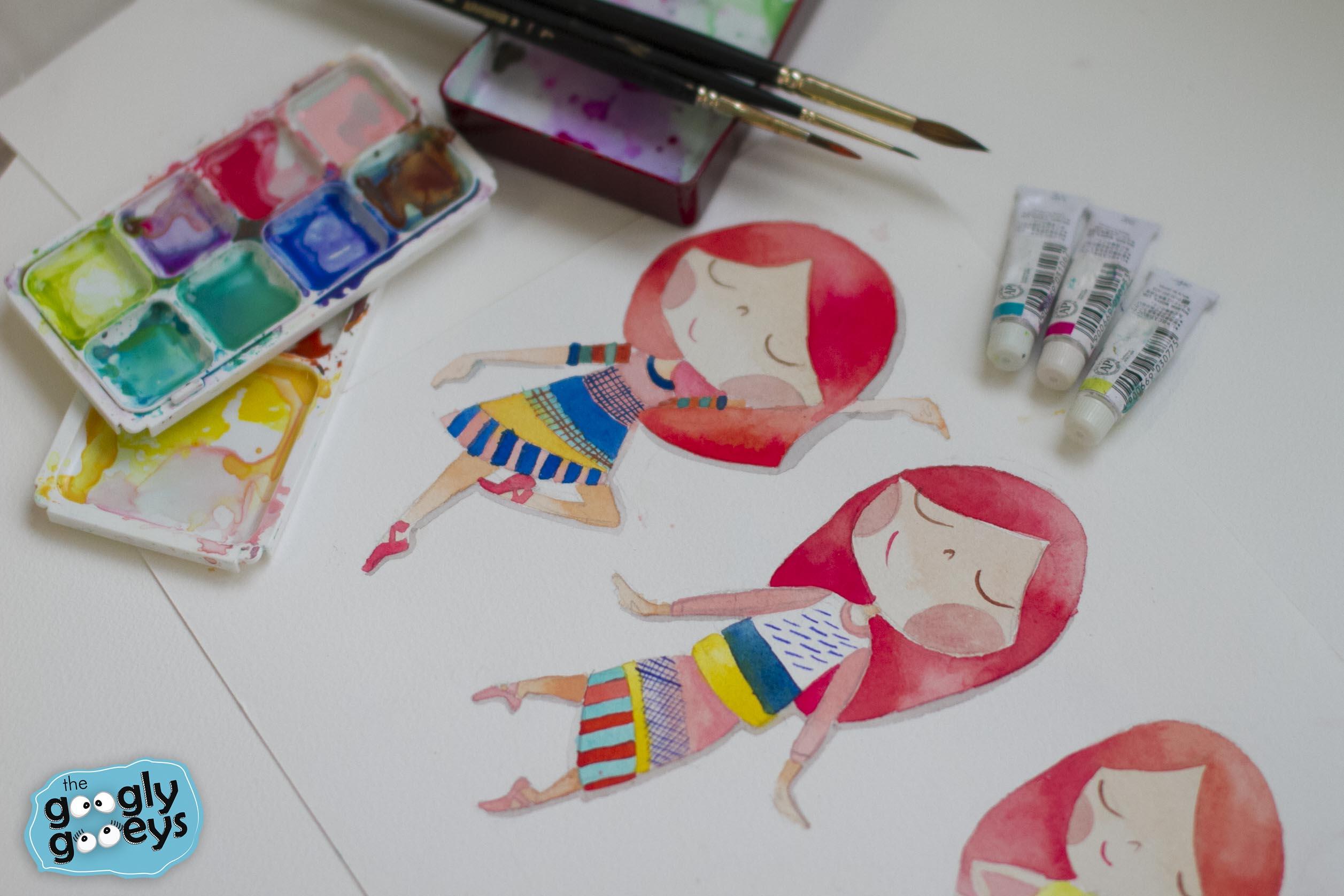 Watercolor & Digitizing Workshops