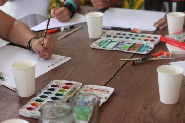 Watercolor Workshop by the Beach