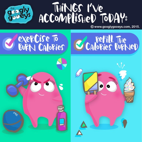 Things I've Accomplished Today Working Out & Eating