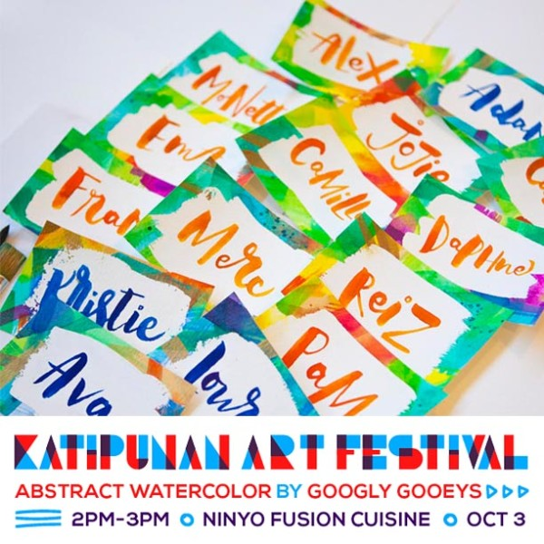 Katipunan Art Fair Abstract Watercolor