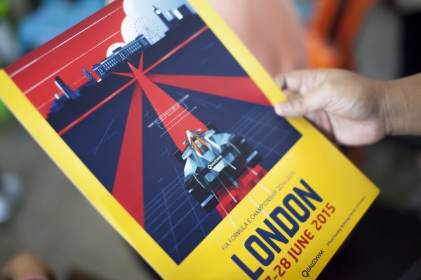 London Poster by Dan Matutina
