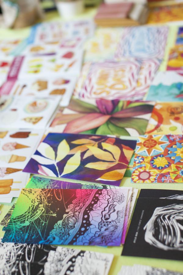 INK Fest Jamie Bauza Postcards