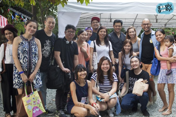 Katipunan Art Festival Group Photo