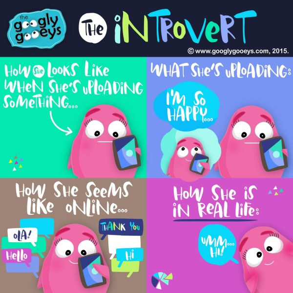 Googly Gooeys The Introvert