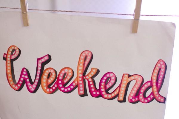 Alessa Lanot Lettering Weekend