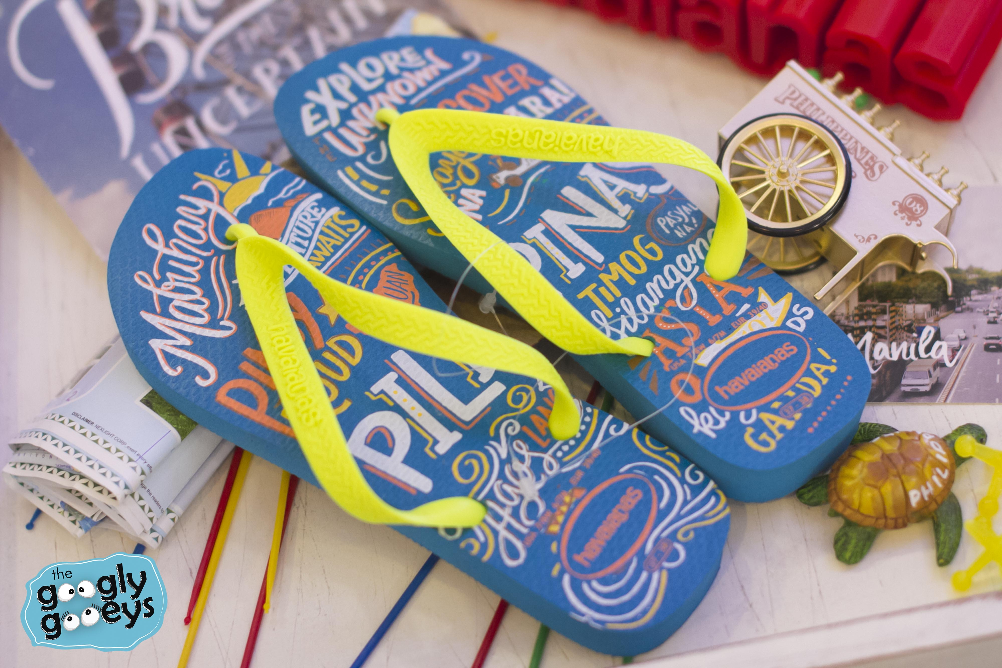 Lettering on Flip Flops: The Havaianas Filipinas Launch