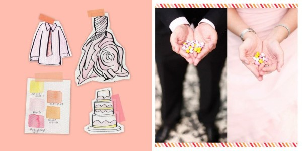 Wedding Customizable M&M's