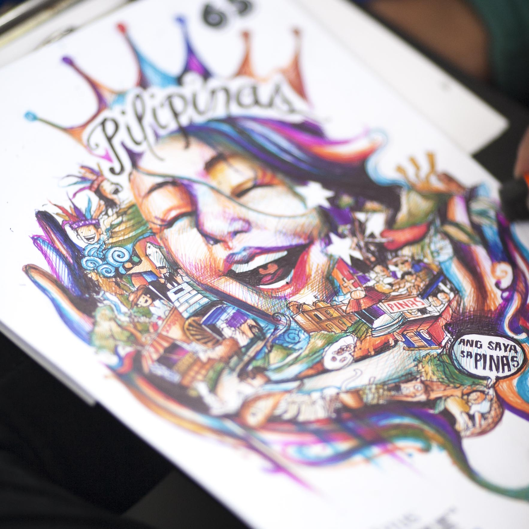 Doodling on a Different Level: Titus Pens iDoodle Challenge