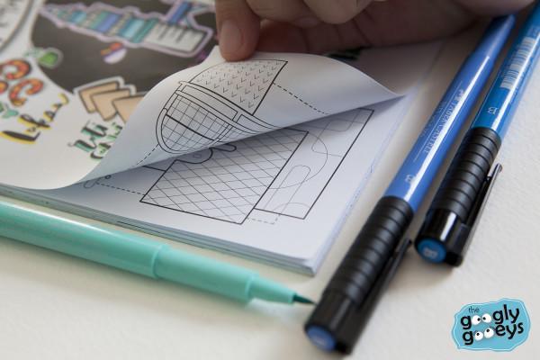 Faber-Castell Pitt Pens Ink Not Seeping