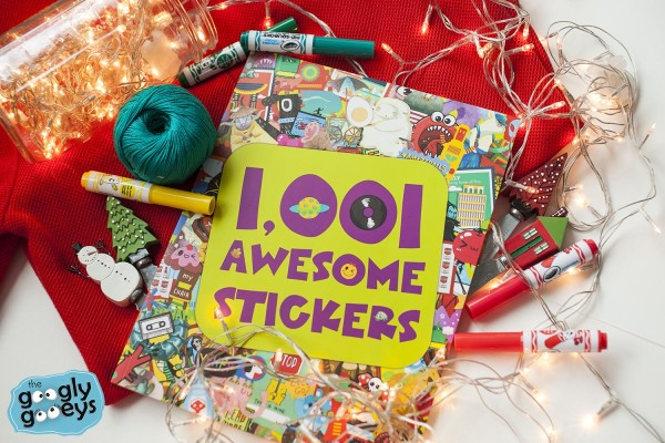 1001 Awesome Stickers Sticker Book