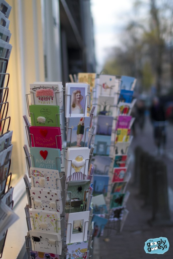 Postcards in Amsterdam