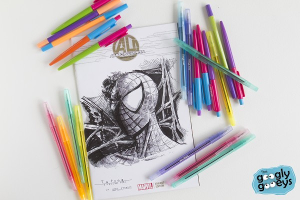 Titus Pens Marvel Artists