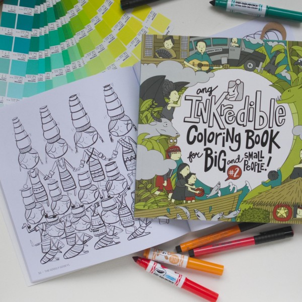 INKcredible Coloring Book 2