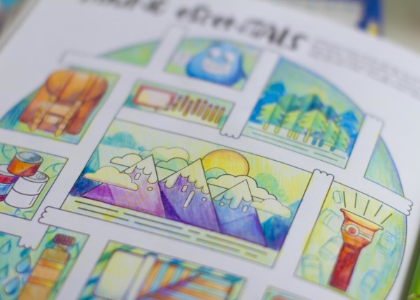 Around the World with the Googly Gooeys Colored Pencils