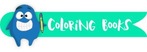 Label Googly Coloring Books