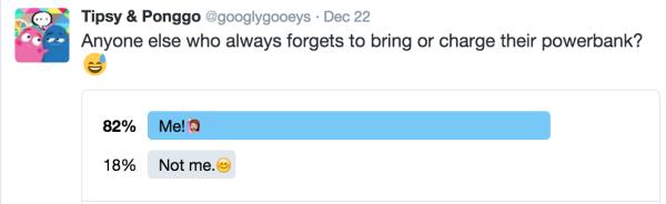 Powerbank Twitter Survey